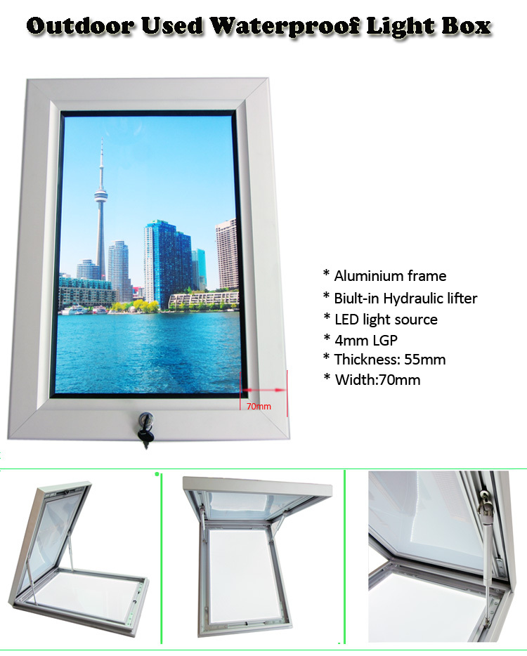 Outdoor poster frame 24 x 36