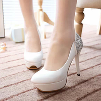 d20977f 2015 new European and American woman heels shoes singles shoes lady fashion shoe