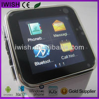 cheap hand watch mobile phone support four Quad-bands