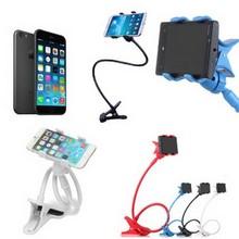 Universal Long Arm Lazy Silicone Phone Holder,Silicone Mobile Phone Card Holder,Silicone Mobile Phone Holder