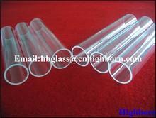 round silica pipe For Copy Machine Lamp