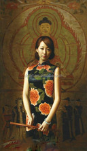 Chinese style art paintings wholesale female sexy picture