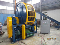 Professional Factory Used Tire Recycling Shredder Machine/Used Tire Recycling Plant