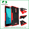 Heavy duty hybird hyun pattern TPU PC 2 in 1 case for Alcatel one touch flash 2