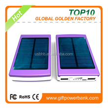 2015 innovative flexible solar panel solar power bank for mobile phone for commercial using and corporate gift