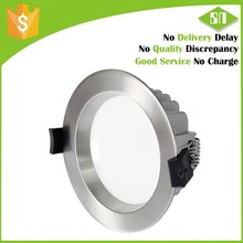 Europe standard brushed 15w led downlight dimmable ceiling lamp