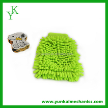 car wash mitt chenille glove, cleaning cloth, microfiber towel