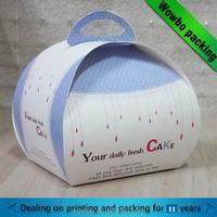 Cheap cupcake take away box wholesale