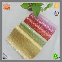 pu chappal glitter textiles fabric from huzhou China