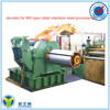 900type stainless steel sheet belt polishing machine