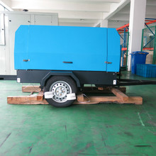 CE certificate industrial mobile compressor for mining