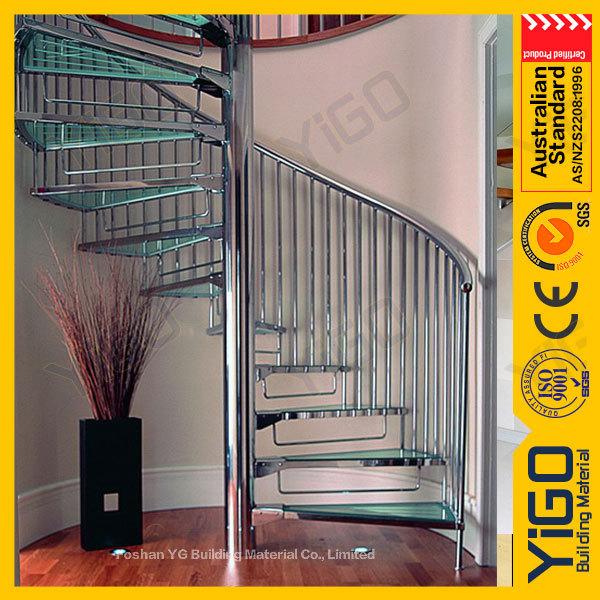 De hierro forjado escalera de caracol al aire libre de for Escalera de madera al aire libre precio
