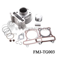Chinese scooter parts cylinder kits for gy6.50cc in FMJMOTO