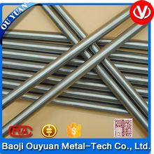 titan/titanium rods with silver surface