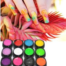 New revelution! Carve gel 12 colors Make nail art design easy
