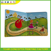 Customize colorful children hardcover my hot book