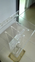 customized acrylic lectern/acrylic podium/acrylic pulpit