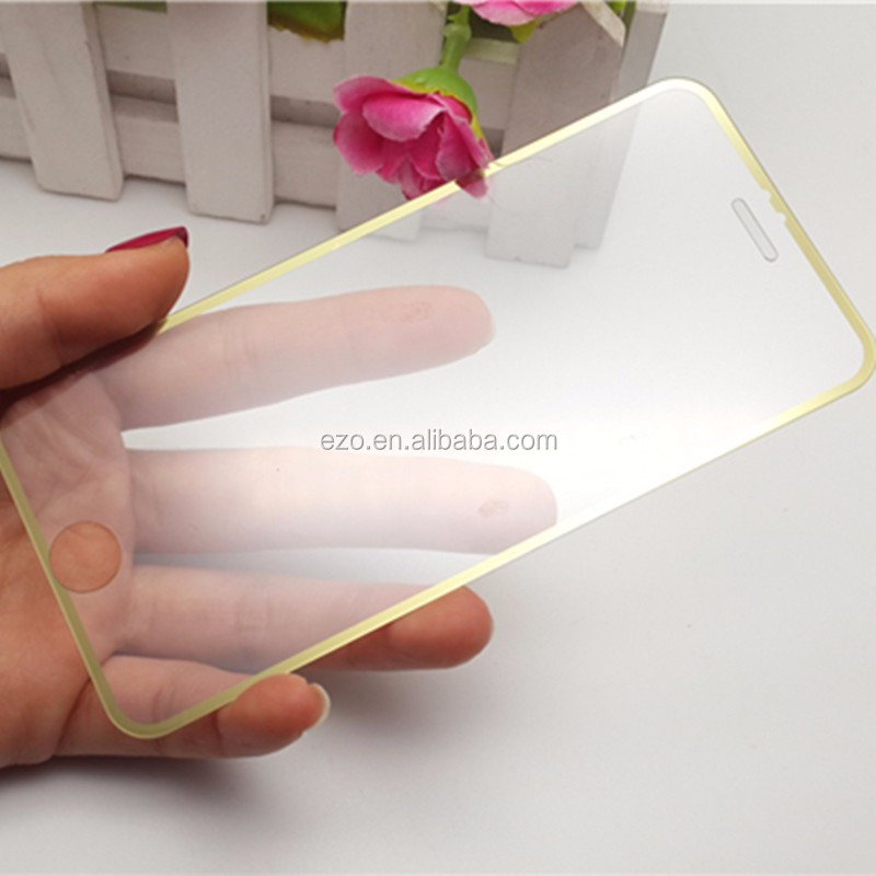 100% full Cover Premium 9h 0.33mm 2.5D tempered glass screen protector for iphone 6 plus mobile screen protector
