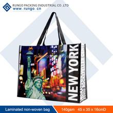 Reusable shopping bag/ custom pp non woven bag with 90% order
