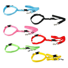 Various colors hands free running walking dog leash