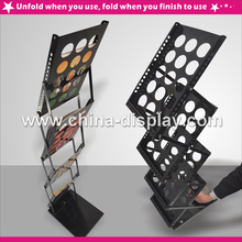brochure advertising holder display Floor displayed picture frame stand
