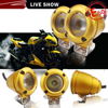 Y&T High Quality Super Bright Auto Offroad Daytime Running Various size gold led spot lights