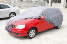 100% waterproof and heat welded hatchback cover PEVA material 13101