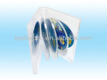 Super Clear DVD Case 22mm for 8pcs Discs