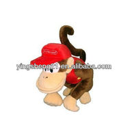 Nintendo Super Mario Brothers Diddy Kong Stuffed Plush Toy Animal Gift