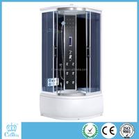 2015 hangzhou crown cheap price sliding tempered glass shower door