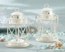 """By the Sea"" Lighthouse Tea Light/Place Card Holder"