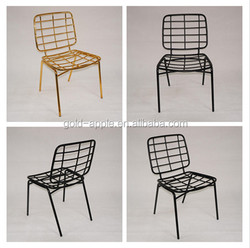 Special Furniture Design Metal Dining Chair ,Guangzhou Manufaturer