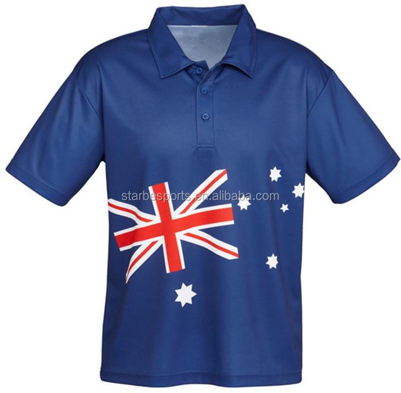 Custom elite jersey polo clothing dye sublimation for Custom polyester polo shirts