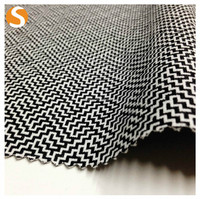 Hot Sell Plyester Cotton Spandex woven Jacquard Fabric for Garment