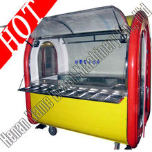 Best selling!! mobile food display carts