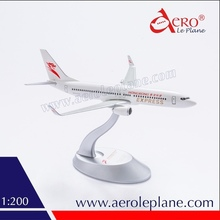 Hong Kong Express Passenger Model Plane B737-800 1:200 Scale Plane with Landing Gears
