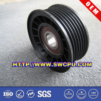 Customized good quality large v belt pulley