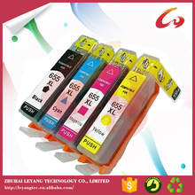 24ml and 15ml capacity refill ink cartridge for hp 655