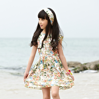 hot sale 2016 summer kid fresh dress by bohemia design