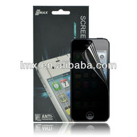 3M Anti spy screen protector for iPhone 5 oem/odm (Privacy)