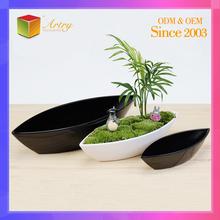 Originality special design indoor plastic flower pot trays