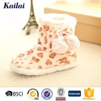 colorful winter snow ankle boot from China