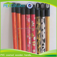 best selling products screwed wooden broom handle with pvc cover