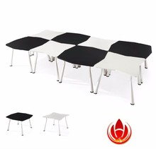 NNH Acrylic small round office meeting table,clear plexiglass meeting table