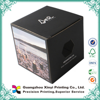 Full Color Customized Print Corrugated Package Box with Window