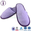 Elegant Purple Hotel Terry Durable Bathroom Women Slippers