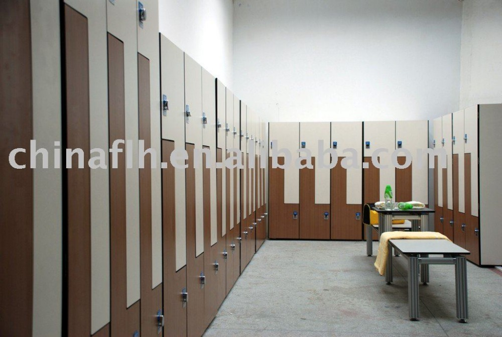 Used gym hpl locker room design view