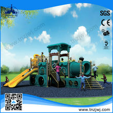 2014 GuangZhou Factory Hot Sale train playground slide material
