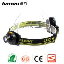 Lomon High Intensity Flashlights Rechargeable Best Hunting Headlamp