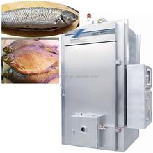 PLC control fish smoker baking oven